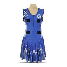 Оптовые продажи сублимации плюс размер конструируют платье Netball