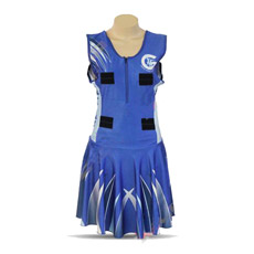 Сублимация Wholesales плюс размер конструкций нетбол платья