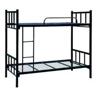 Bâti de couchette en acier bon marché en métal d'ouvrier militaire d'hôtel d'école