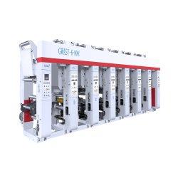 8 cores, alta velocidade de impressão por rotogravura automática a Máquina com Acionamento Shaftless (DLYA-81000D)