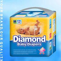Programável descartáveis baratos de boa qualidade de Fábrica de fraldas para bebé
