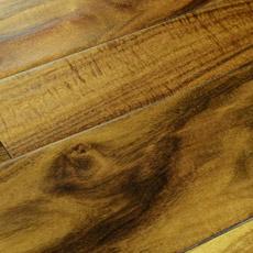 O comprimento aleatório pequenas folhas Acacia Engineered Flooring (Acacia)