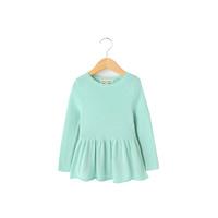 Phoebee tejer tejidos de algodón/primavera/otoño niños ropa para niñas