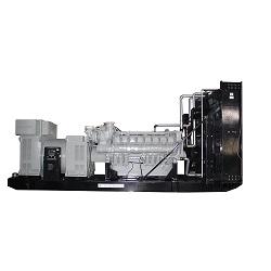 Parallèlement à Googol 2400KW 3000KVA Diesel Generator MW Power Plant
