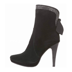 Последнюю версию мода дизайн высокие каблуки леди из натуральной кожи сапоги