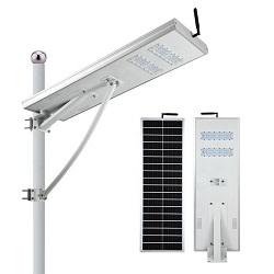 Tudo em uma luz de Rua Solar 60W