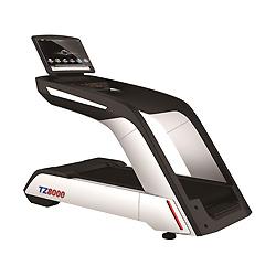 Tapis de course commerciale / appareils de fitness Tz-8000 Tapis de course électrique