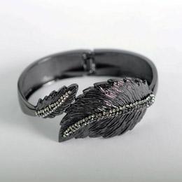 Ligas de titânio de metal bracelete de moda Joalharia Bangle