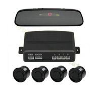 Sensor de estacionamento retrovisor com sensor retrovisor com display LED / LCD Opcional