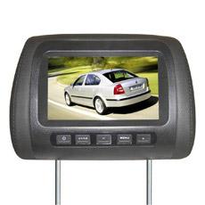 7 pouces moniteur LCD Appui-tête de voiture avec 2 entrée vidéo