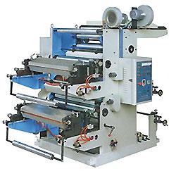 2 - As máquinas de impressão offset a cores, impressoras flexográficas