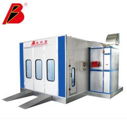 Ce Garage agréé Auto Matériel de peinture utilisée cabine de pulvérisation de peinture de voiture
