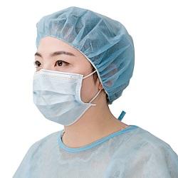 Máscara descartável Loop auricular & Braçadeira sobre