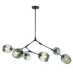 Lámpara de Cristal Simple Creativa para Lámpara de Comedor Colgante de Luz