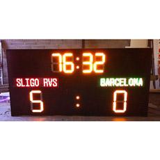 Nuevo diseño de producto nuevo cuadro de indicadores LED de deportes