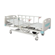 Luxuosa cama hospitalar elétrica com três funções