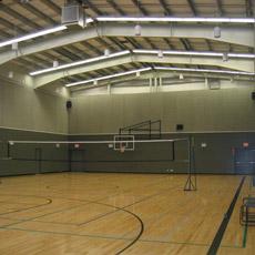 Cancha de Baloncesto de Estructura de Acero