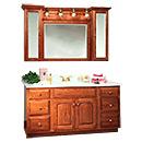 Wooden Vanity Cabinet (W-002)