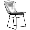 Sled Base Knoll Wire Bertoia Side Chair