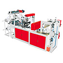 Double Lines High Speed Rolling Bag Machine