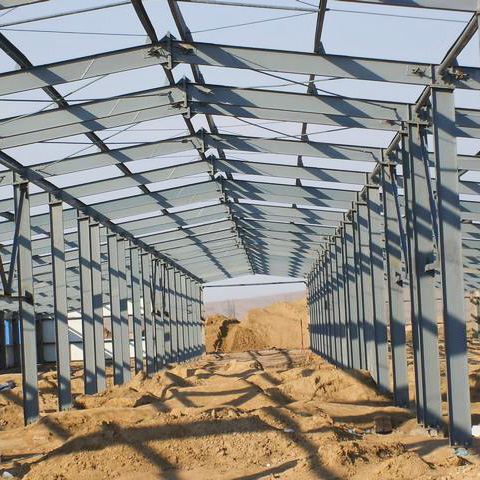 H Type Steel Structure Ware House (Steel Frame)