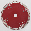 Hot Press Saw Blade with Triangle Turbo