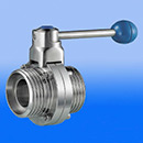 Stainless Steel Manual Threaded Butterfly Valve