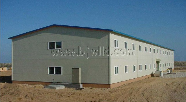 Prefabricated Warehouse as Factory