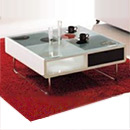 MDF with High Gloss Coffee Table