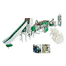 Plastic Bottle Plastic Flakes Washing Line
