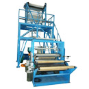 Double Cutting Double Winding Film Blowing Machine