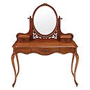 Antique Home Furniture Wooden Dresser with Mirror