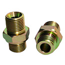 60 Deg Cone Bsp Thread Hydraulic Fittings Adapters
