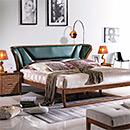 Wooden Confortable Double Bedroom Bed