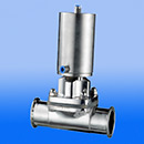 Stainless Steel Pneumaic Clamp Diaphragm Valve