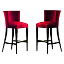 Strong Wooden Frame Hotel Chair Bar Stool