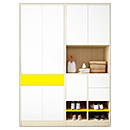 Modern Wood Closets Wardrobe