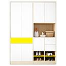 Modern Wood Closets Wardrobe