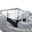 Living Room Glass Coffee Table