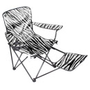 Foldable Leisure Chair with Footrest