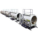 HDPE Pipe Extrusion Production Machine
