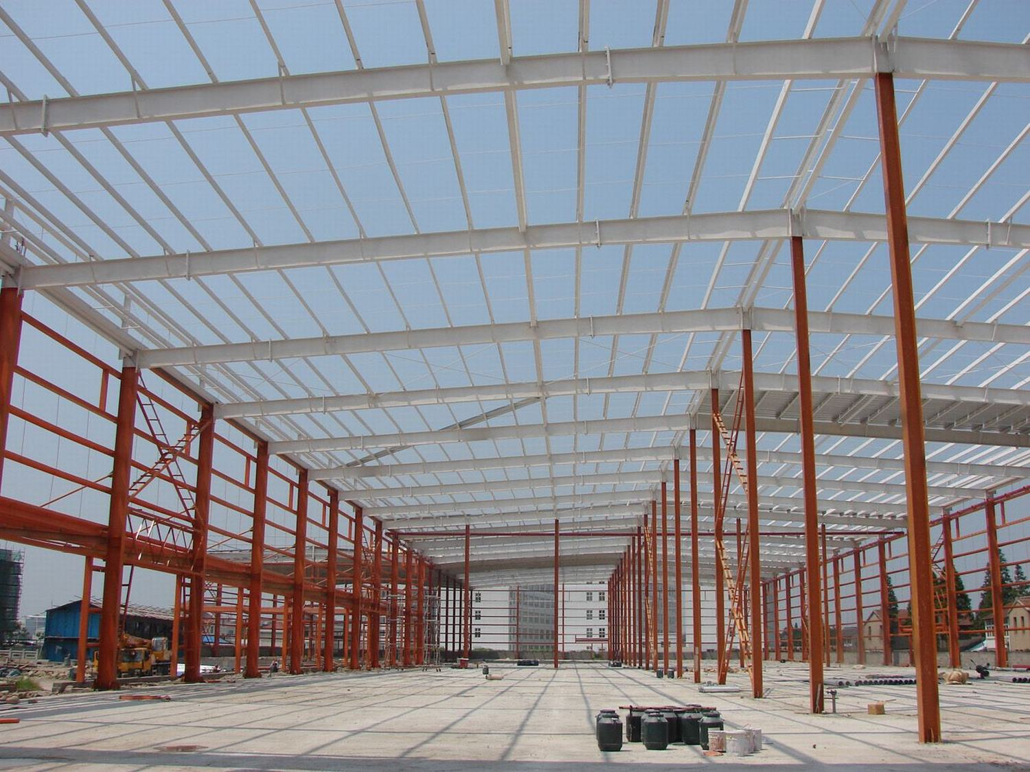 ISO 9001: 2008 Steel Structure Warehouse