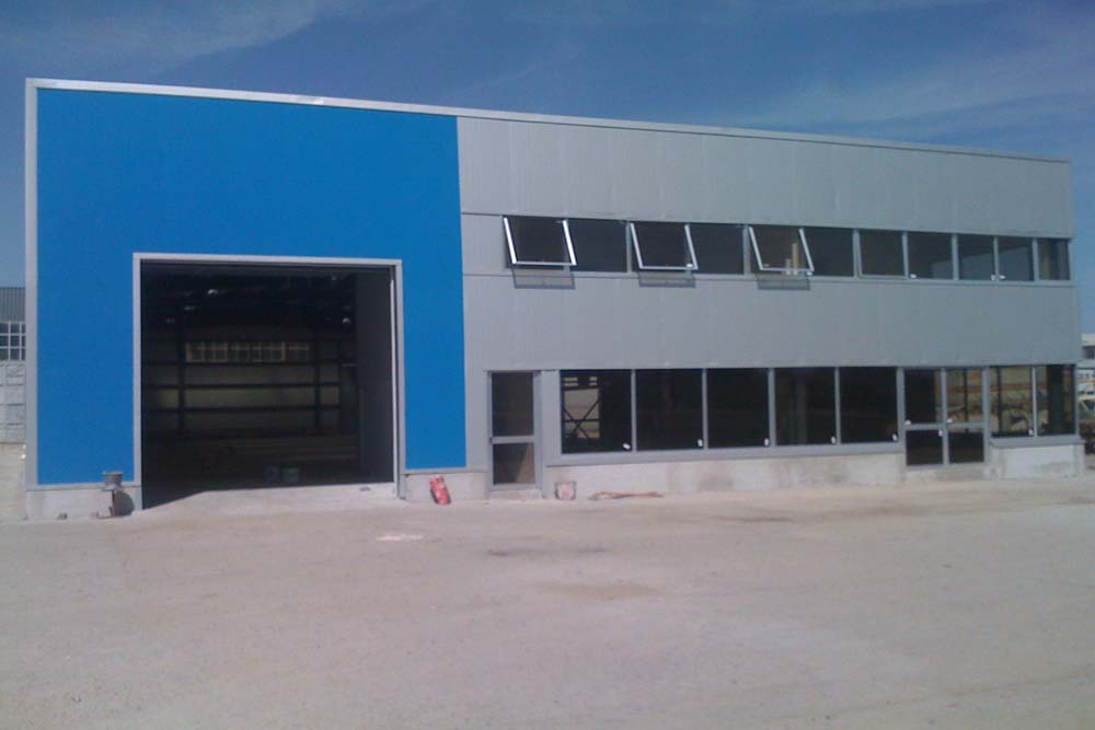 Steel Structure Warehouse for Rumania