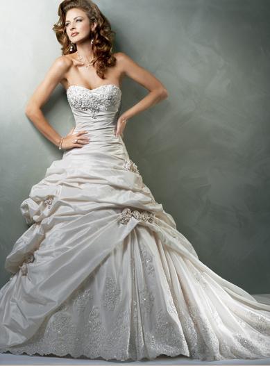 flowery wedding dress Amalfi by Reverie This dress isn 39t just modern it