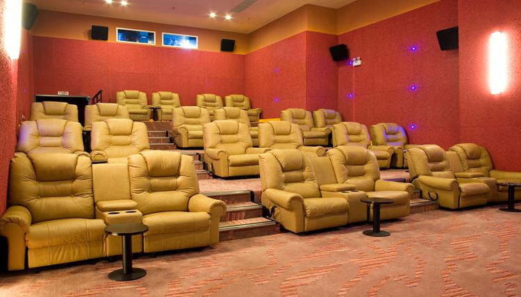 Home theatre seating project image