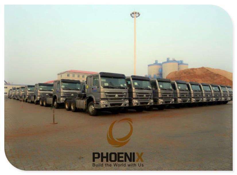 Howo Tractor Trucks to Nigeria
