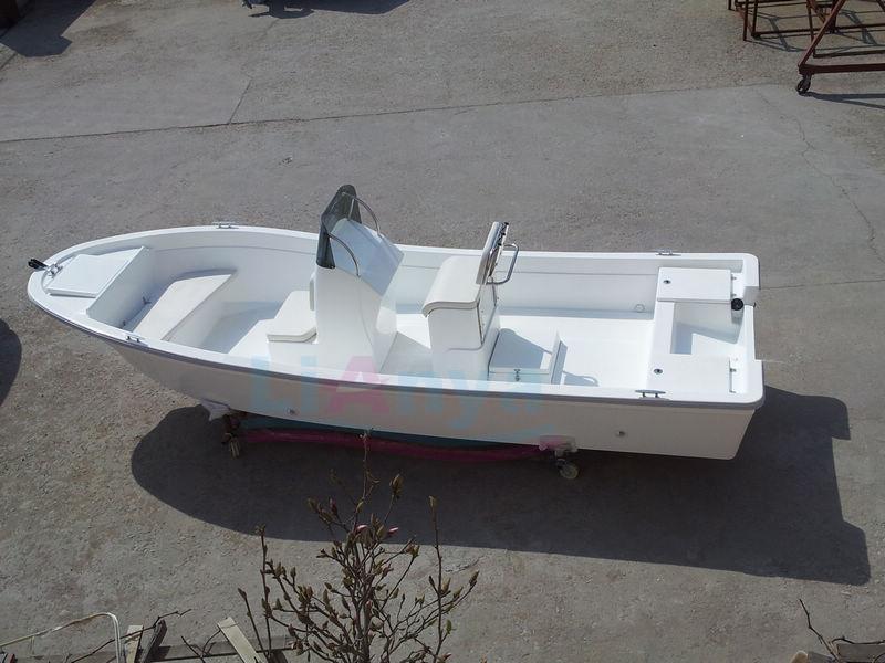 Aluminum Center Console Boat Build