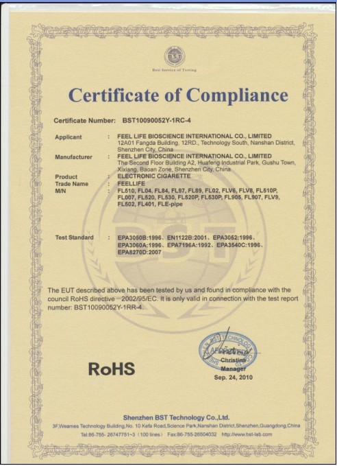Rohs compliance certificate cake ideas and designs for Rohs certificate of compliance template