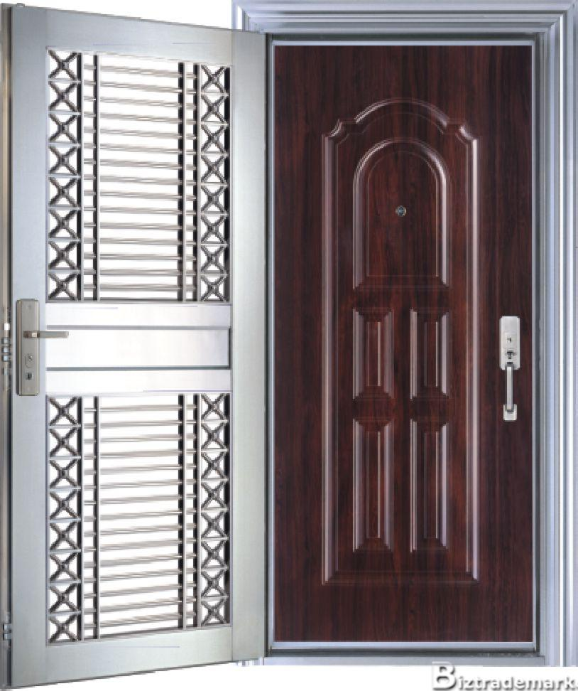 Metal bar door doors for Metal entry doors