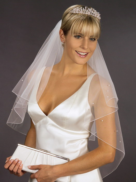 Wedding Veil 1 Our veils are available in all lengths from elbow to